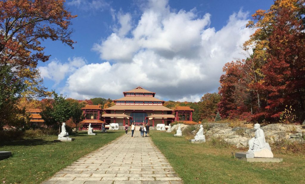The Buddhist monastery in Cold Spring, northern New York