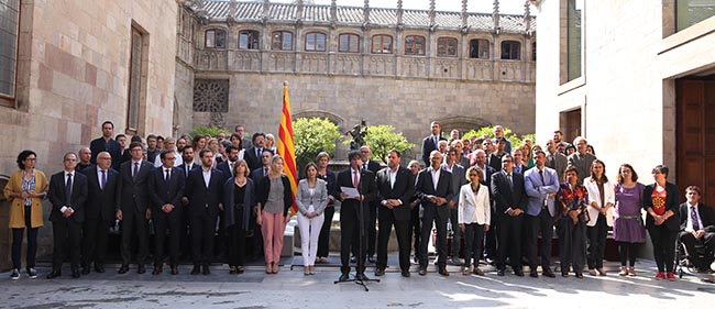Carles Puigdemont announces Catalan independence referendum