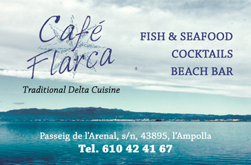 Traditional Delta cuisine at Cafe Flarca in l'Ampolla
